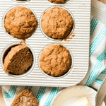 Brown Butter Apple Spice Muffin