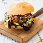 Vegan Roasted Cauliflower and Quinoa Burgers