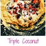Triple Coconut Chocolate Chip Goji Berry Cookies