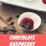 Raspberry Chocolate Truffles Pin