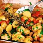 Maple Roasted Mini Potatoes