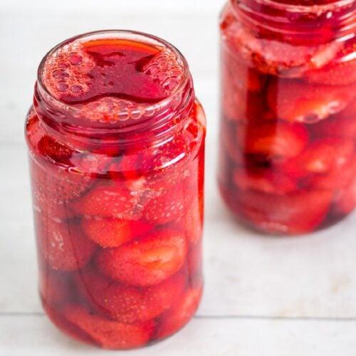 Easy Baked Strawberries