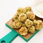 back to school snacks: Baked Zucchini, Feta and Quinoa Bites