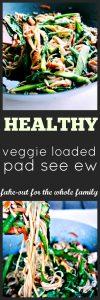 Veggie Loaded Pad See Ew