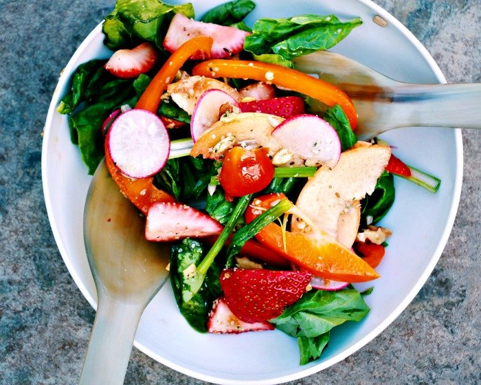 Summer Antioxidant Salad @wholefoodbellies.com