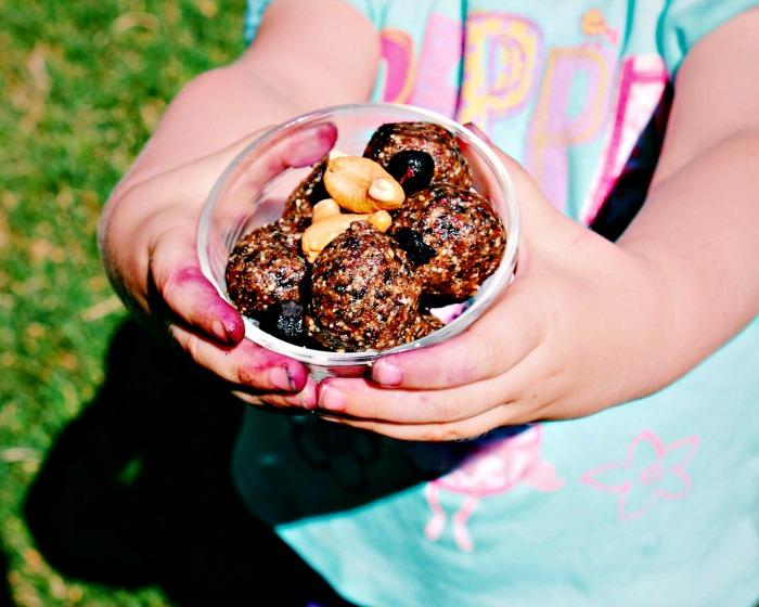 blueberry crumble bites