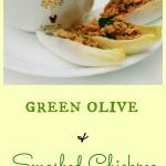 Green Olive and Smashed Chickpea Spread
