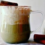 Homemade Chai Green Tea Spiced Latte
