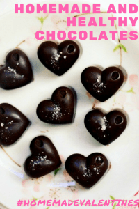 Homemade and healthy chocolate