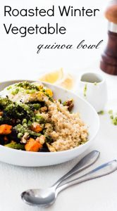 Roasted Winter Vegetable Quinoa Bowl
