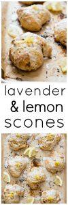 Lavender and Lemon Scones Pinnable