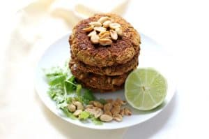 Spring Clean Eating Meal Plan: Pad Thai Broccoli Burgers