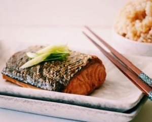 Clean Eating Meal Plan: Salmon Teriyaki