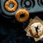 Healthier Baked Banana Breakfast Doughnuts
