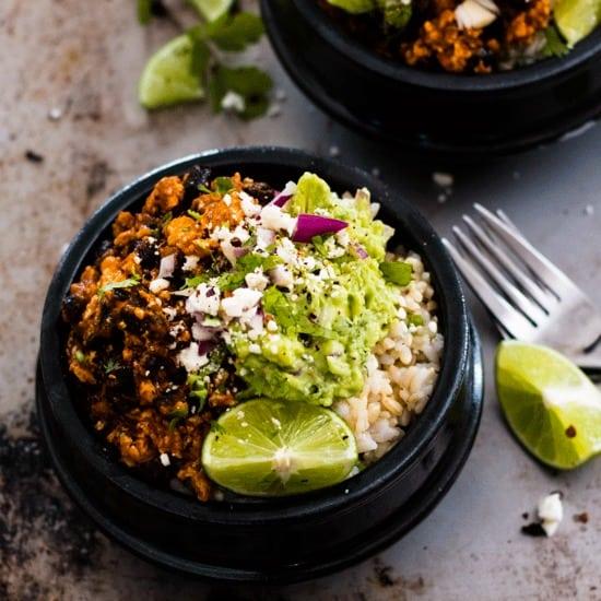 Spicy Chipotle Tofu Burrito Bowl