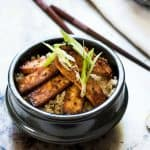 Truly Crispy Baked Lemongrass and Ginger Tofu