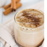 Green Tea Chai Spiced Latte