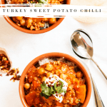 turkey sweet potato chilli