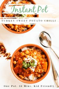turkey sweet potato chilli