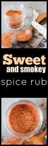 Sweet and Smokey Spice Rub
