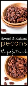 Sweet and Spiced Pecans