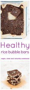 Healthy Rice Bubble Bars