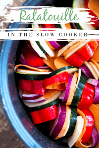 The perfect slow cooker ratatouille