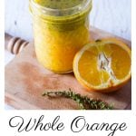 Orange and Thyme Vinaigrette