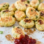 Back to School Snacks: Ricotta and Cauliflower Tater Tots