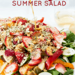 Strawberry Spinach Pecan Salad