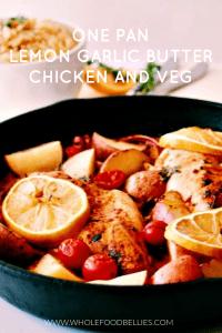 Lemon Garlic Chicken Bake Pin copy (1)