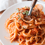 Vegan Tomato Cream Sauce with Pasta