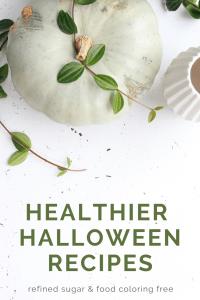 healthy halloween treats for the whole family