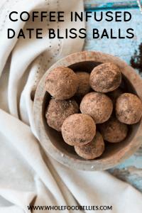 mocha date bliss balls