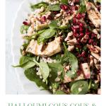 Halloumi Pomegranate Salad Recipe