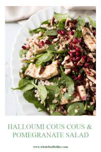Halloumi Pomegranate Salad Recipe