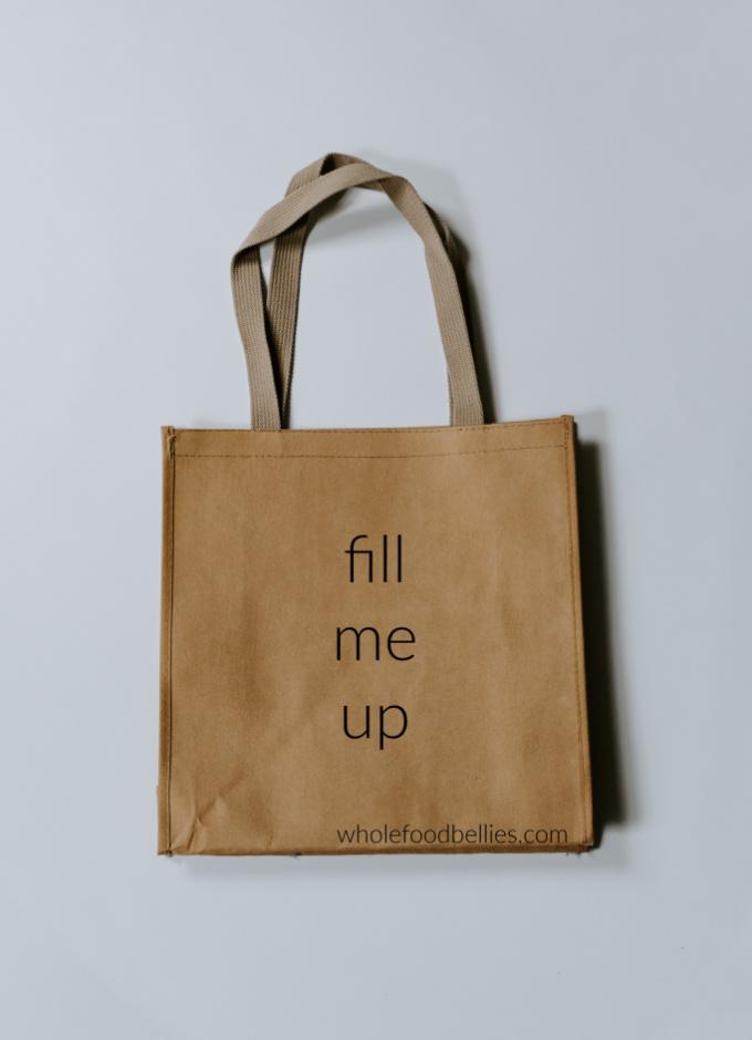 Plastic free challenge: eco bag