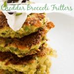 Cheddar Broccoli Fritters