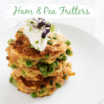 Ham and Pea Fritters