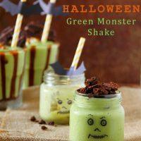 Scary-Good Halloween Green Monster Shake