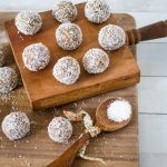 Puffed Brown Rice and Banana Energy Balls