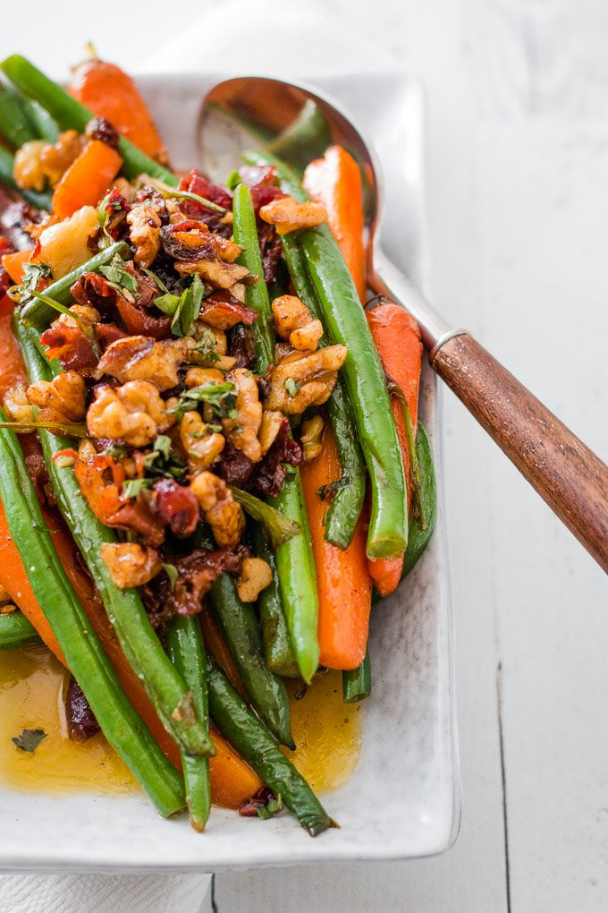sauteed green beans and carrots