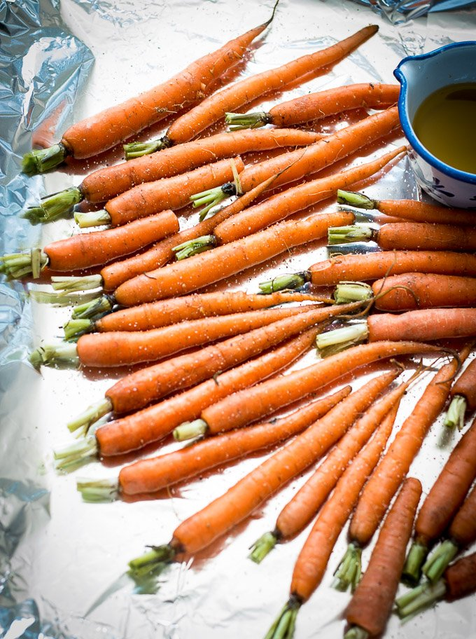 Roasted Dutch Carrots