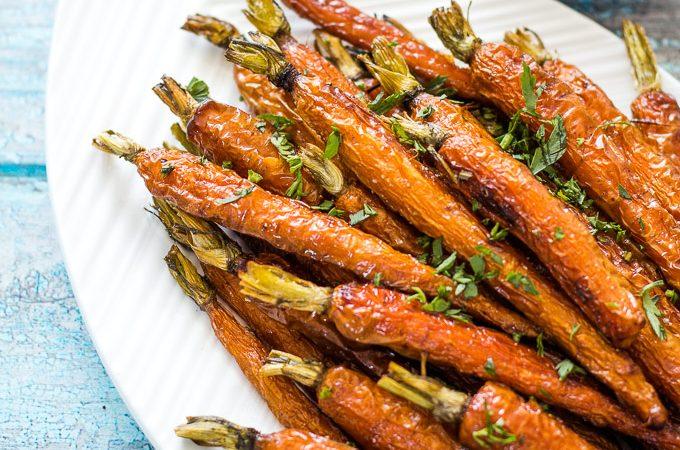 Roasted Dutch Carrots