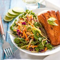 4 Ingredient Easy Teriyaki Salmon