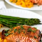 Honey Mustard Glazed Salmon Filet