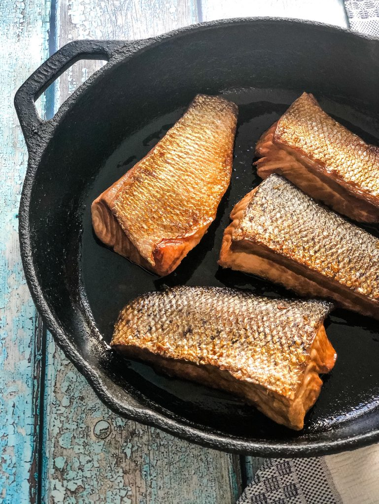 4 ingredient salmon teriyaki