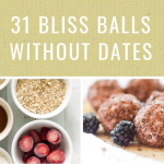31 bliss balls without dates