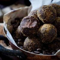 Dark Chocolate Kahlua Coffee Bites