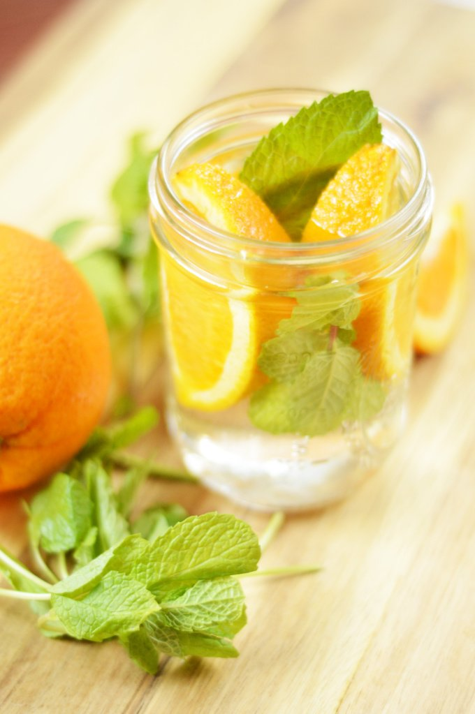 Minty Orange Water